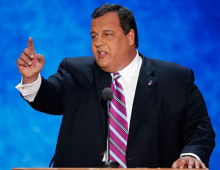 RNC Coverage: New Jersey Gov Chris Christie Rallies Republicans