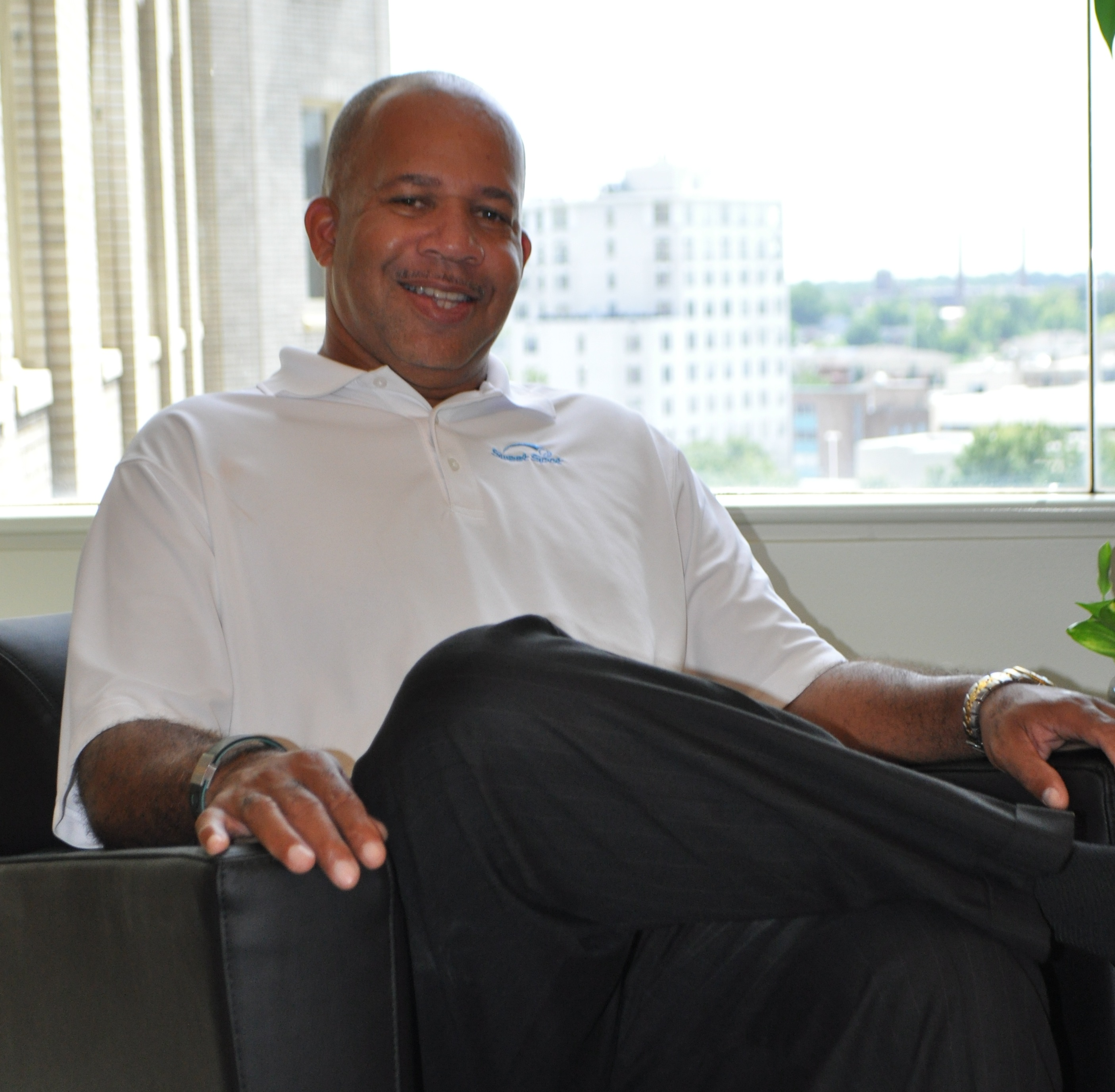 Sweet Spot Apparel Founder and CEO Anthony Shareef (Image: Courtesy of Subject)