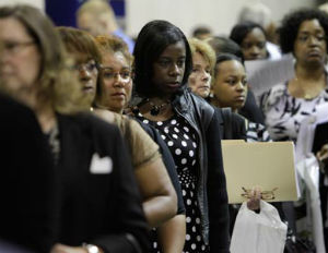 Jobless Rate Down in 21 States