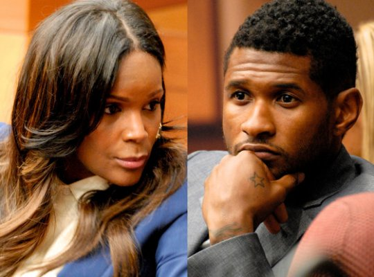 Usher's Ex-Wife Tameka to Appeal Custody Decision