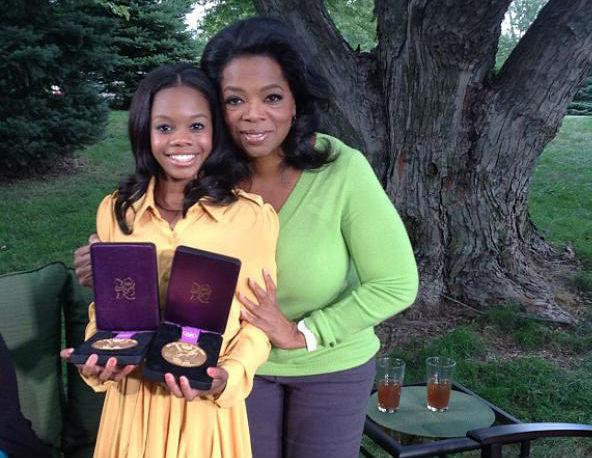 Gabby Douglas Tells Oprah She Was Bullied, Called 'Slave'