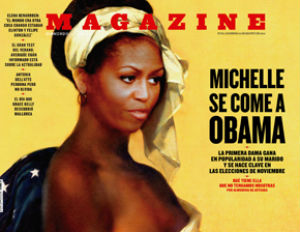 Is This Michelle Obama Magazine Cover Racist?