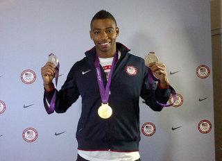 Cullen Jones on Olympic Fame, Fashion and the Ideal Woman