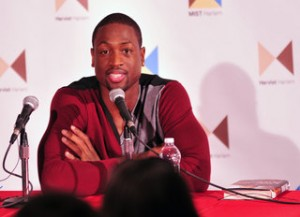 Dwyane Wade has now added author to his resume. (Image: Schaphotography)