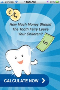 Tooth Fairy App screenshot