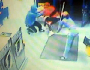 Four Assailants Attack Bronx Laundry Clerk With Sticks [Video]