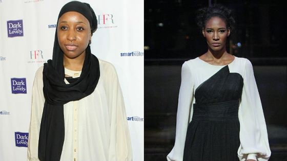 Black Muslim Designer Taps Dominican Orphan Model for Fashion Week