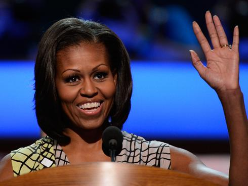 Michelle Obama: 'Barack is Still That Leader' From Four Years Ago