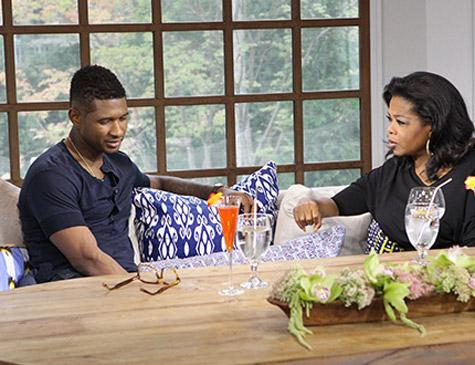 Usher to Appear on Oprah's Next Chapter, Talks Divorce