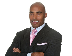 Tiki Barber, former NFL running back, is now the face of a new web-based startup.