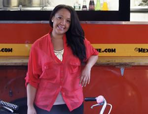 Truck Driver: Mexicue CFO Julia Collins.