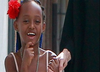 Angelina Jolie's Daughter Zahara to Act Alongside Mom