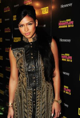 Bad Boy artist, Cassie Ventura at the 8th Annual Paper Magazine Nightlife Awards