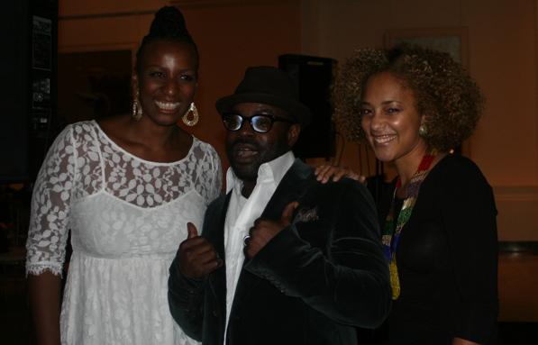 Dr. Janice Johnson Dias, Black Thought and Amanda Seales