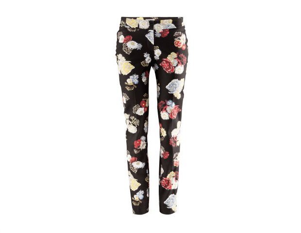 These floral matchstick pants would bloom well in the office paired with a solid-hued peplum blouse. H&M, $34.95