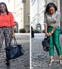 Don't be afraid to push the boundaries, especially for Casual Fridays. Check out these chic trousers that can turn up your style in the office. --- Kéla Walker
