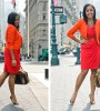 Red is a power color perfect to wear in the office. Everyone, from Hollywood starlets to First Lady Michelle Obama, has sported a little red dress from time to time, so let go of those age-old notions related to the hue and wear it with confidence! Here are a few pieces to help you do that: ---Kéla Walker