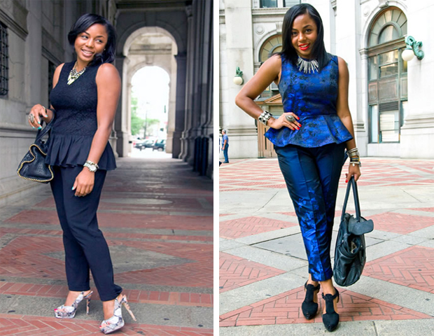 Give your work wardrobe that extra fab factor with peplum pieces that go from day to night. Check out five key items that feature the trend to incorporate in your office looks.---Kéla Walker  (You can find out more on how to style these looks for work here.)