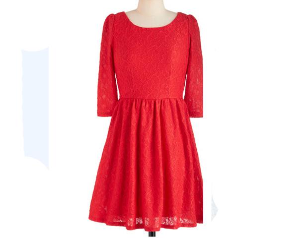 Lace Dress, ModCloth, $49.99