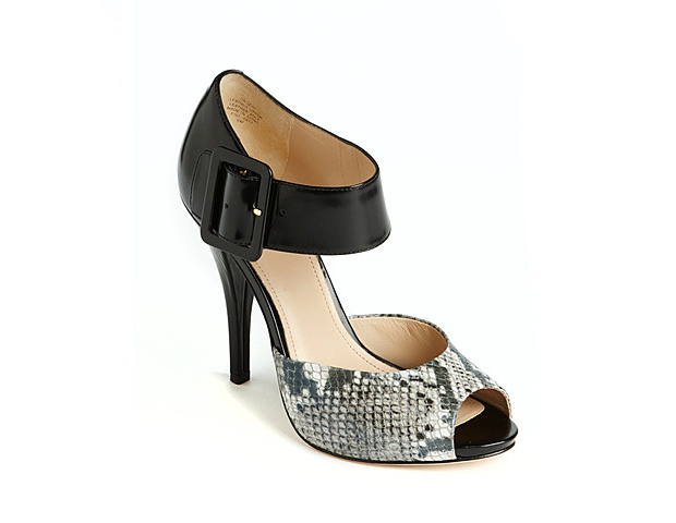 Peep-Toe Pump, $169.99, Lord & Taylor