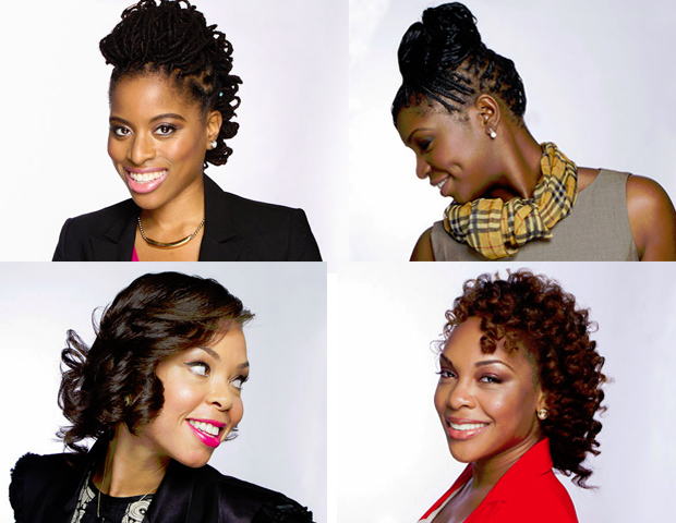 Natural hair has always been hot, since the days of Angela Davis 'fros and Susan Taylor cornrows. In recent years, the trend has blossomed into a re-emerging movement of pride and creativity, from housewives to major executives. Take a look at these top looks, worn by real-life power women, and be inspired. ---Janell Hazelwood  Images: Jerome Shaw; Makeup: Kenecia Lashae; Hair: Maria Thompson of Twist and Curves ---Locs/Braids; Leatrice Carter of Time Studio --- Transitioning Style/Natural Curls)