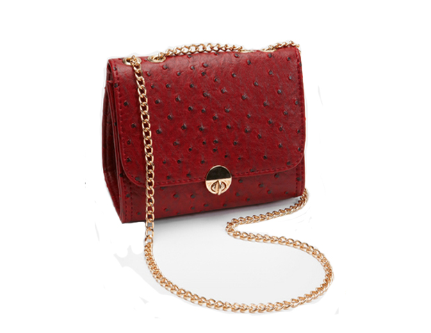 This cute oxblood purse is also on trend with the big cross body craze happening right now. FredFlare.com, $19.99