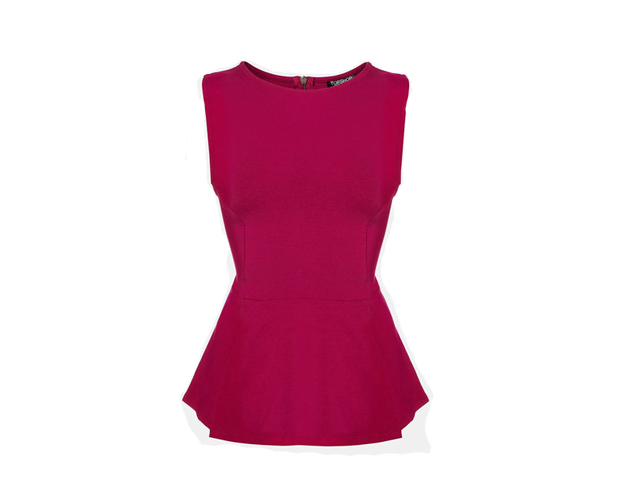 The tailored seams in this peplum top help define any figure with perfection. Nordstrom, $36