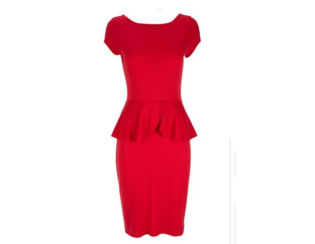Peplum Dress, Wallis, $35