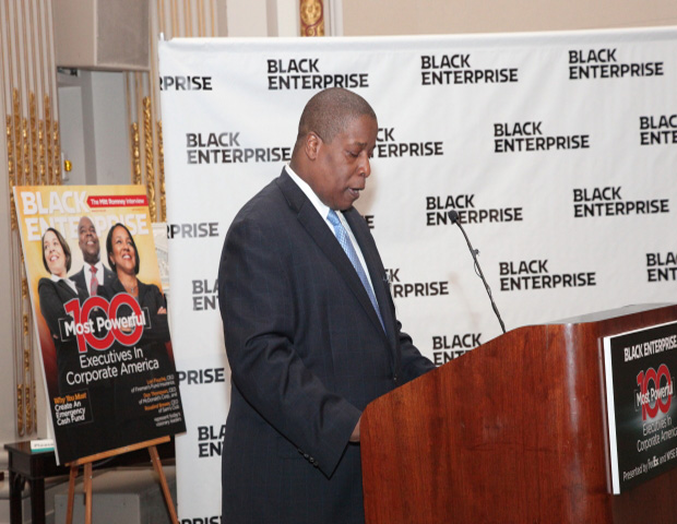 Derek T. Dingle (S.V.P/Editor-in-Chief of Black Enterprise Magazine)