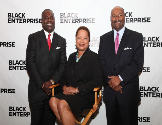 From Left to Right: Shannon A. Brown (SVP & Chief HR/Diversity Officer, FedEx Express.) Cathy D. Ross (CFO, EVP & Director of FedEx Express), Matthew Thornton III (Senior Vice President of U.S Operations of FedEx Express)