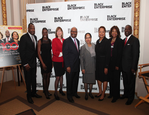 Group Shot of Some Black Enterprise Executive Honorees