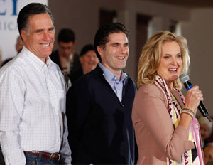 Tagg Romney: 'I Wanted to Swing on Pres. Obama'