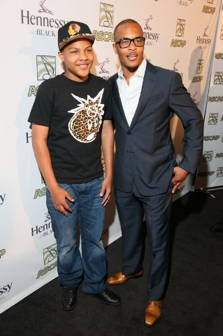 T.I. and his son, Messiah