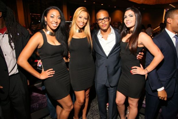 T.I. with Hennessy Black Girls