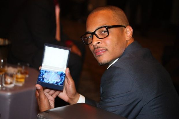 T.I. with his ASCAP Legends Award
