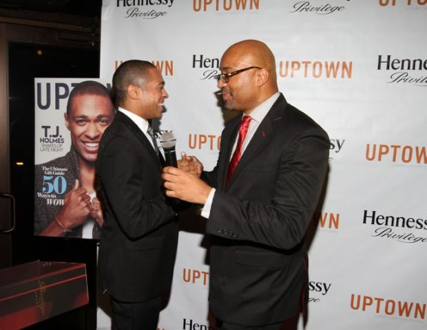 T.J. Holmes and Rodney Williams (Hennessy)