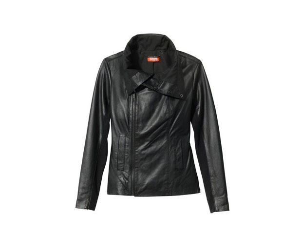 Leather Jacket, $199, Target