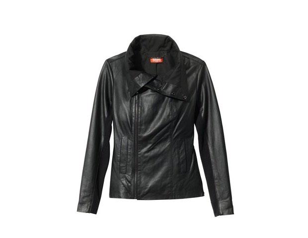 Leather Jacket, $199, Target