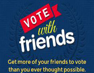 Vote with Friends Facebook App Makes Sure You (And Your Pals) Hit the Polls