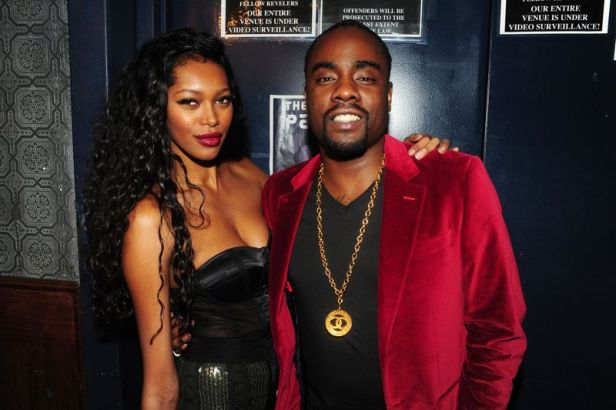 Model Jessica White hangs out with rapper, Wale at the 8th Annual Paper Magazine Nightlife Awards