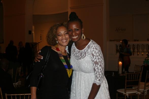 Amanda Seales and Dr. Janice Johnson Dias