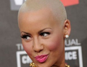 Ne-Yo Rejected Amber Rose for Video Over Bald Head?