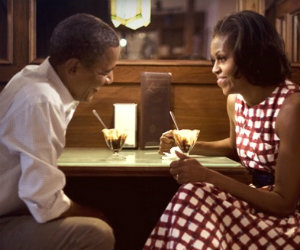 The Obama's Celebrate 20 Years of Wedded Bliss