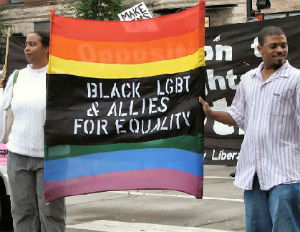 More People of Color Identifying as LGBT