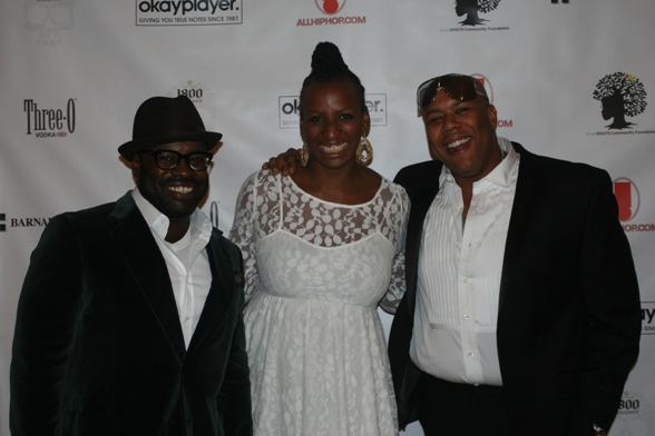 Black Thought, Dr. Janice Johnson Dias and Dice Raw