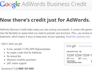 Google to Begin Credit Card Program for Small Businesses