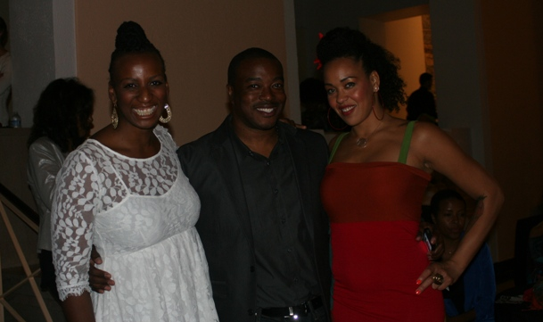 Dr. Janice Johnson Dias, Chuck Creekmur and Maya Azucena