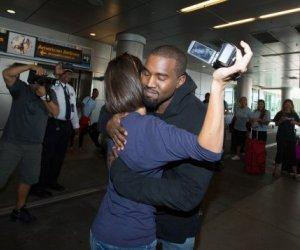 Kanye West Hugs Female Paparazzi He Once Shoved