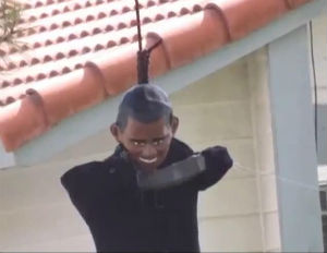 Image result for Obama lynched
