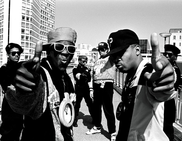 Public Enemy: Educating the masses with hits like Fight The Power, Don't Believe The Hype, Can't Truss It and Public Enemy #1